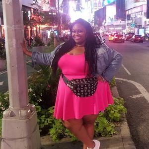 Pink 2 piece